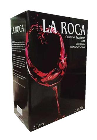 Rượu vang bịch Laroca 3 Lít