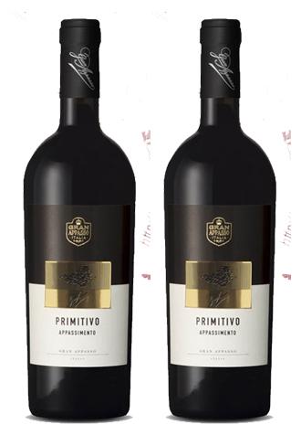 Rượu vang Grand Appasso Appassimento 15,5% - Vang hình chùm nho