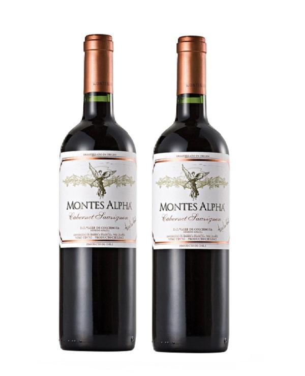 Rượuvang Montes Alpha Cabernet Sauvignon Cao cấp
