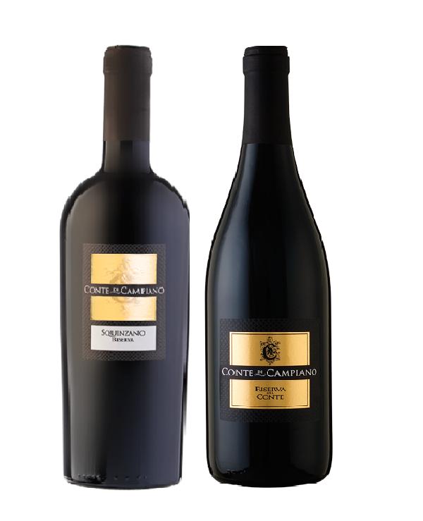 Rượu vang Ý Conte di campiano