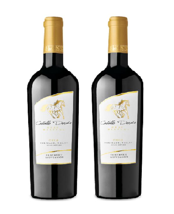 Rượu vang Chile Caballo dorado GRAN RESERVA