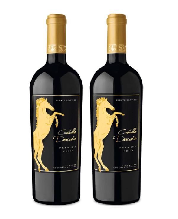 Rượu vang Caballo dorado Premium Chile - Rượu ngựa vàng