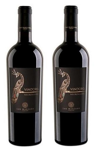 Rượu vang Ý Vindoro Negroamaro - Vang con Công