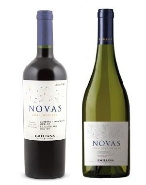 Rượu vang Novas Carmenere Cabernet Sauvignon