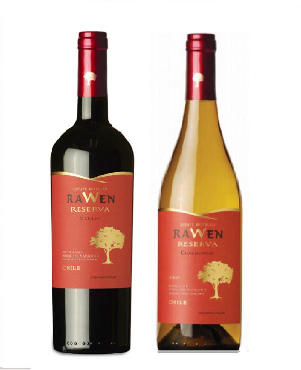 Rượu vang Chile Rawen Reserva