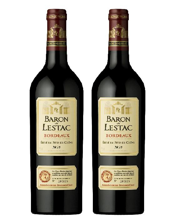 Rượu vang Pháp Baron de Lestac Bordeaux