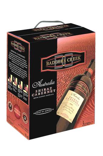 Rượu vang bịch Astralia - Úc Badger Creek 3 Lít