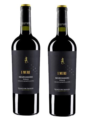 Rượu vang Ý I Muri Negroamaro