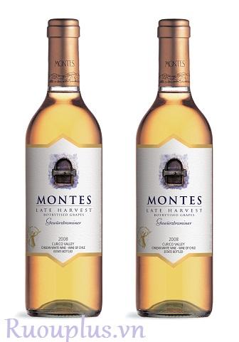 Rượu vang Chile Montes Late Harvest Gewüztraminer Botrytised