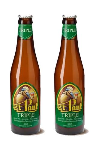 Bia nhập khẩu Bỉ St. Paul Triple 330ml