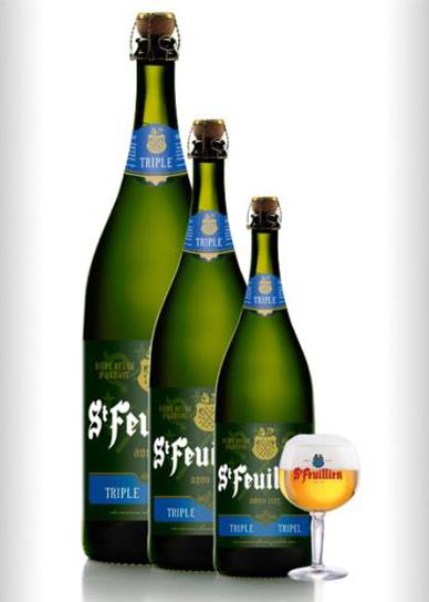 Bia Bỉ St-Feuillien Triple