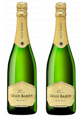 Rượu sâm banh - vang nổ Gran Baron Cava SEMI SECO