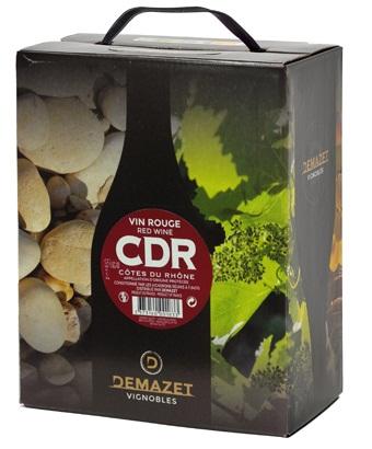 Rượu Vang Bịch Đỏ Demazet vignobles 3l