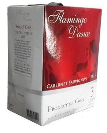 Rượu vang bịch Chile Flamingo Dance 3 lít và 5 lít bán rẻ