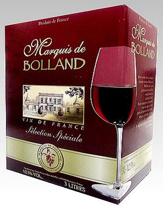 Vang bịch Pháp Marquis de bolland 3 lít uống ngon giá rẻ
