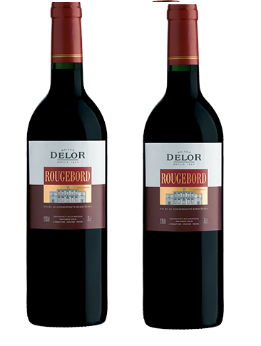 Rượu vang Pháp Delor Rougebord Blend Bordeaux