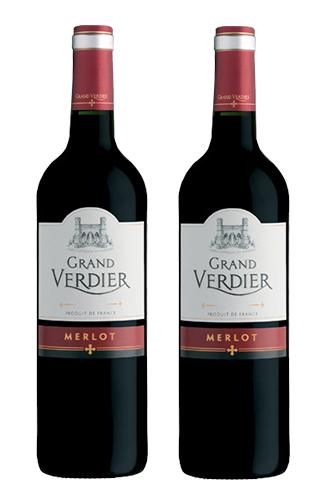 Rượu vang Pháp Grand Verdier Merlot