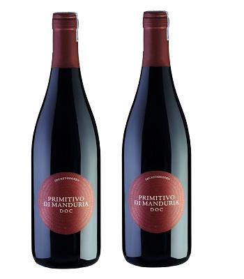 Rượu vang Ý Primitivo di manduria doc segreto rosso giá rẻ