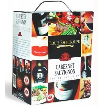 Rượu vang bịch Pháp Louis Eschenauer giá rẻ 3 và 5 lít