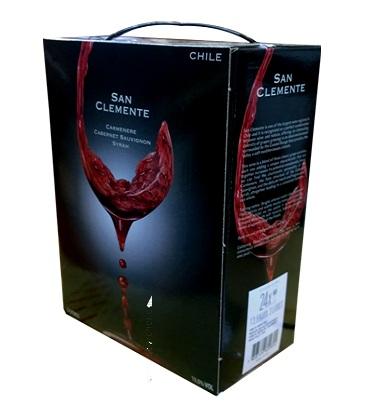 Rượu vang bịch Chile 3 lít - 5 lít giá rẻ nhất