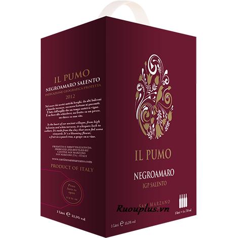 Vang bịch IL Pumo Ý 3 lít 2018