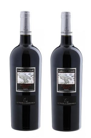 Rượu Vang Ý Megale Hellas Malvasia Nera Salento