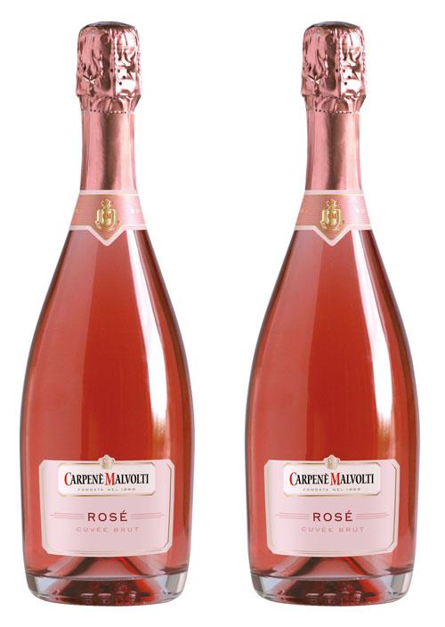 Rượu sâm banh Carpenè Malvolti Prosecco Rosé Cuvée Brut
