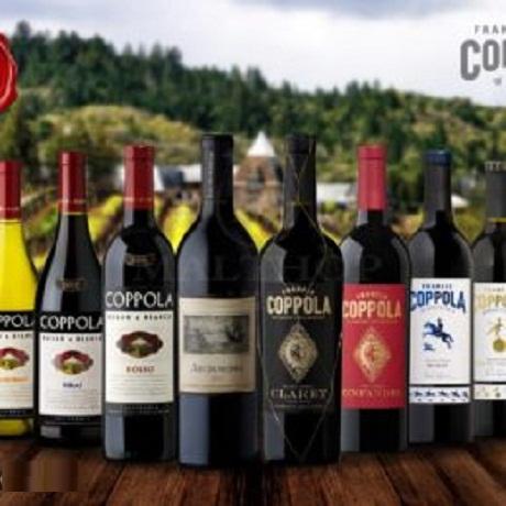 Rượu vang Coppola Mỹ giá bán rẻ nhất