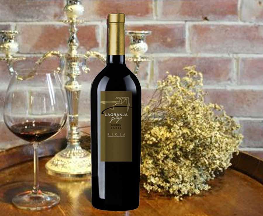 Rượu vang Lagranja Golden Label 2005