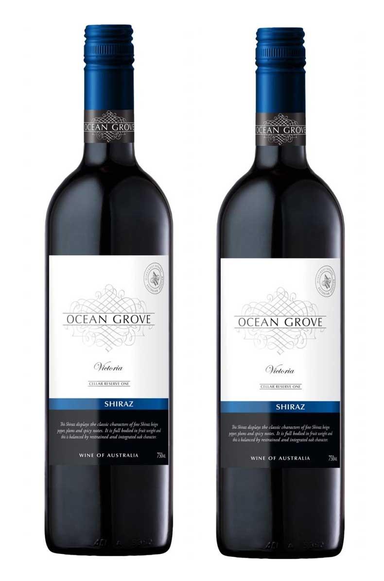 Rượu vang Úc Ocean Grove Shiraz giá rẻ đang sale