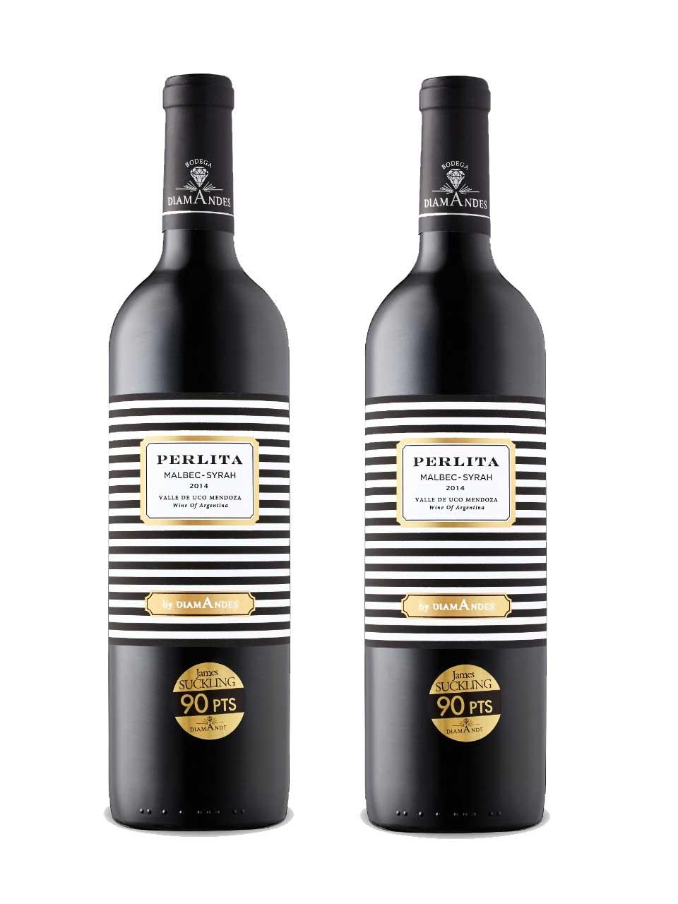 Rượu vang Argentina DiamAndes Perlita Malbec-Syrah