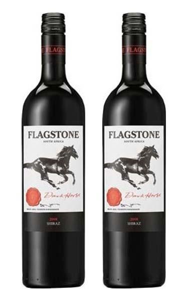 Rượu vang Nam Phi Flagstone Dark Horse
