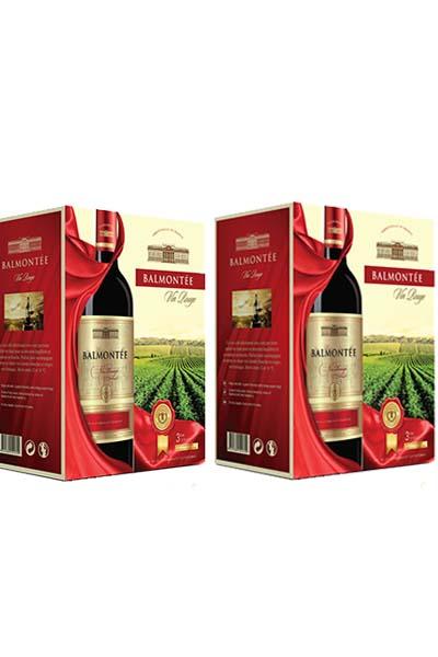 Rượu vang bịch Pháp Balmontee BIB 3.0L
