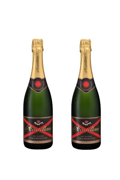 Sâm panh Champagne de Castellane Brut