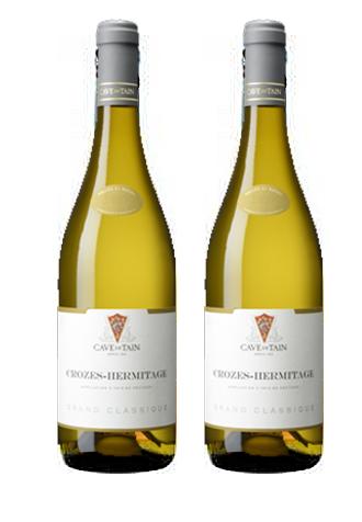 Rượu vang Pháp Crozes – Hermitage Grand Classique Blanc