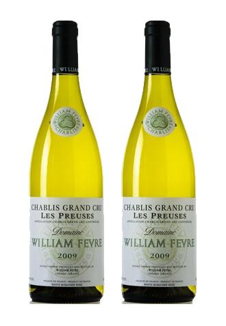 Rượu vang Pháp Chablis Grand Cru Les Preuses