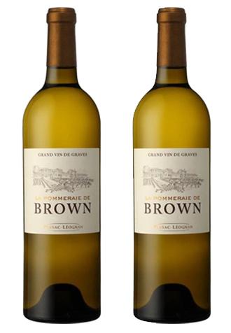 Rượu vang La Pommeraie de Brown White Chính hãng