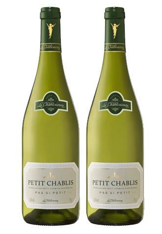 Rượu vang Pháp Petit Chablis Pas si Petit