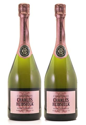 Sâm Banh Pháp Champagne Charles Heidsieck Rose Reserve