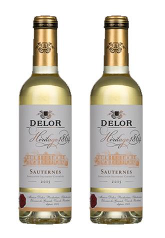 Rượu vang ngọt Delor Heritage 1864 Sauternes