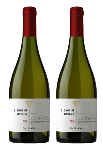 Rượu vang Chile Signos de Origen Chardonnay Viognier Marsanne Roussanne