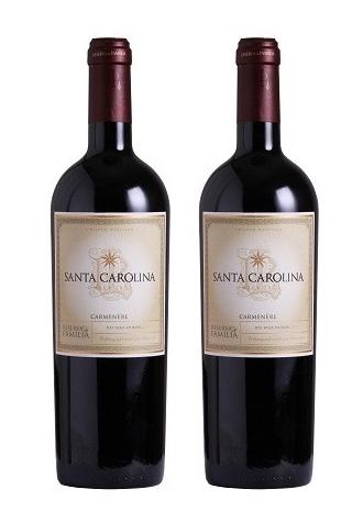 Rượu vang Chile Santa Carolina Reserva De Familia Carmenere