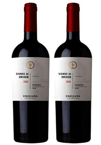 Rượu vang Chile Signos de Origen Carmenere