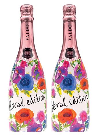 Rượu vang sủi bọt Valdo Floral Edition