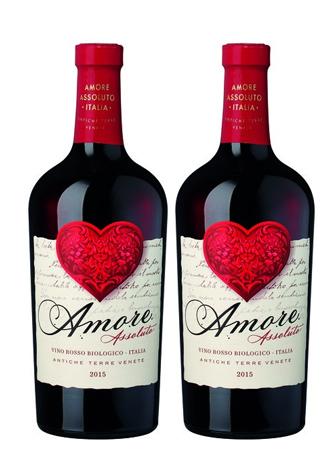 Rượu vang Ý Amore Assoluto Vino Rosso Biologico