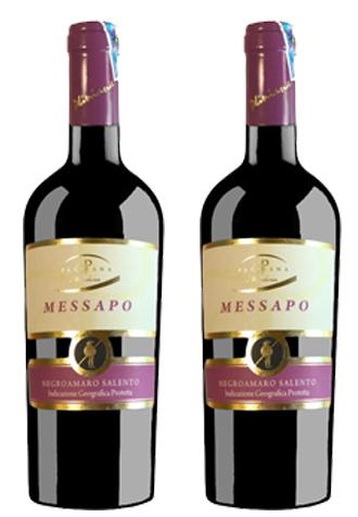 Rượu vang Ý Messapo Salento Negroamaro