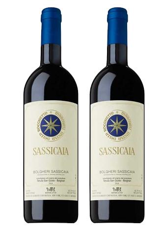 Rượu vang Ý Sassicaia Bolgheri