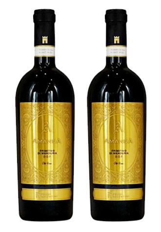 Rượu vang Ý Amanda Primitivo di Manduria