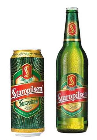 Bia Nhập Khẩu Staropilsen Lager Beer