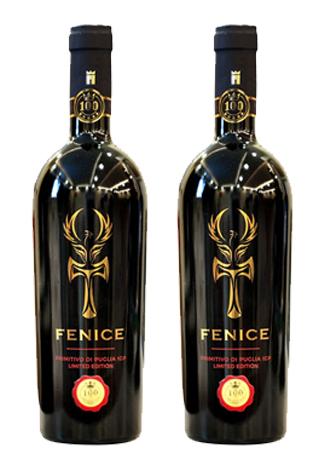 Rượu vang Ý Fenice Primitivo Puglia